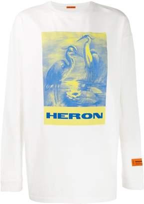 Heron Preston oversized print jumper