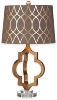 Bassett Mirror Company Coburg Table Lamp in Gold Leaf
