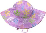I Play I-Play Baby Girls' Brim Sun Protection Hat, Queen Anne's Lace