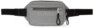 Burberry Grey West Print Bum Bag