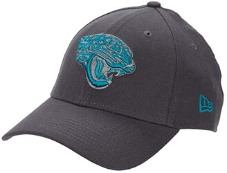 New Era NFL Stretch Fit Graphite 3930 -- Jacksonville Jaguars (Graphite) Baseball Caps