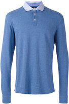 Hackett longsleeved polo shirt - men - Cotton/Spandex/Elastane - S