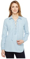 Joe's Jeans Makeyla Lace-Up Shirt Women's Clothing