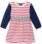 Toobydoo Striped Dress (Baby & Toddler Girls)