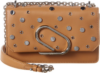 3.1 Phillip Lim Alix Leather Chain Clutch