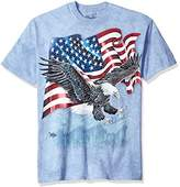 The Mountain Men's the Eagle Talon Flag Adult T-Shirt