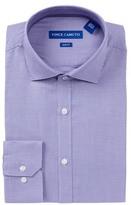 Vince Camuto Pattern Trim Fit Dress Shirt