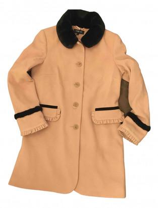 Lawrence Grey Pink Wool Coats