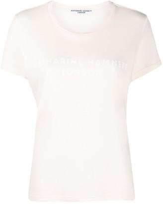 Katharine Hamnett logo printed T-shirt
