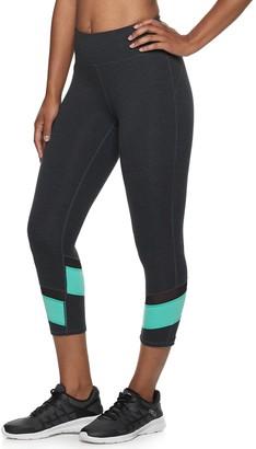 Fila Women's SPORT Pop Hem Midrise Capri Leggings