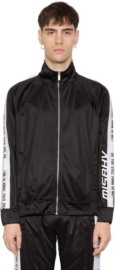 Misbhv Do You Still Zip-Up Track Jacket