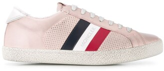 Moncler Striped Low-Top Trainers