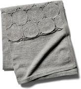 Sefte Paya Crochet Throw, Silver