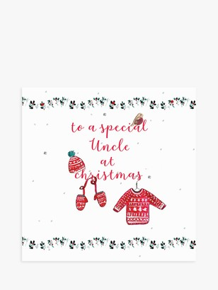 Laura Sherratt Designs Jumper Uncle Christmas Card