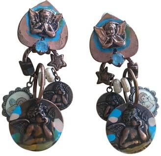 Reminiscence Multicolour Metal Earrings