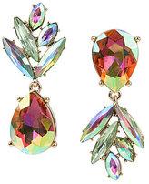 Betsey Johnson Pineapple Mismatched Drop Earrings