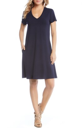 Karen Kane Quinn Pocket Shift Dress