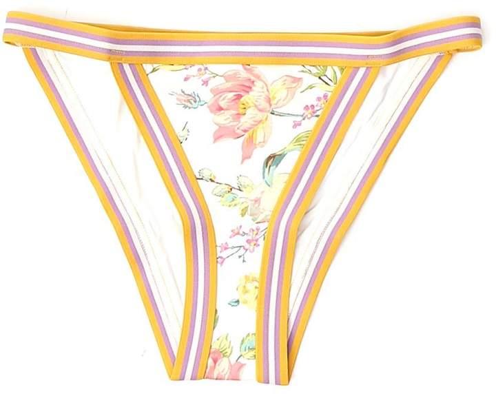 Zimmermann Floral Print Bikini Bottoms
