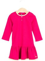 Little Marc Jacobs Girls' Long Sleeve Ruffle-Trimmed Dress w/ Tags