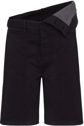 Y/Project Asymmetric Cotton Shorts