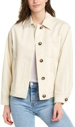 Vince Utility Linen-Blend Jacket