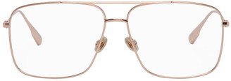 Christian Dior Rose Gold Aviator DiorStellaire03 Glasses