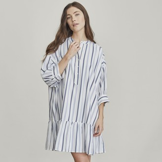 Elizabeth and James Women's Button-Front Tunic Dress