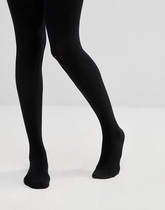 ASOS DESIGN 200 denier thermal black tights