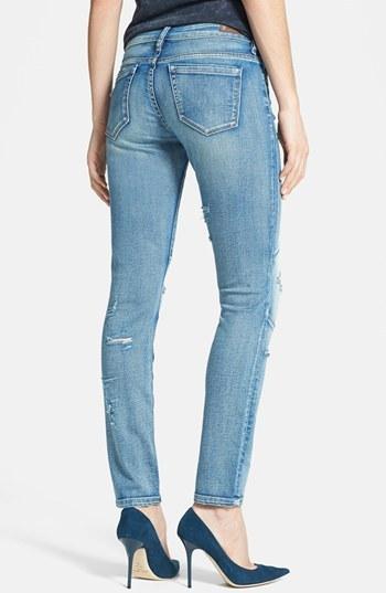 Blank NYC BLANKNYC Distressed Patched Skinny Jeans (Bees Knees)