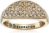 BCBGeneration Half Moon Pave Ring, Size 7