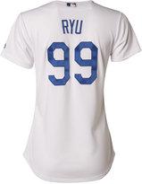 Majestic Women's Hyun-Jin Ryu Los Angeles Dodgers Cool Base Jersey