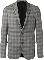 Lanvin checked blazer - men - Cupro/Wool - 50