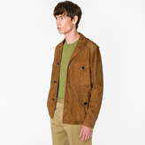 Paul Smith Men's Tan Suede Field Jacket