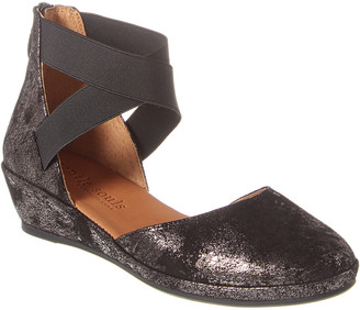 Gentle Souls By Kenneth Cole Noa Suede Wedge Sandal