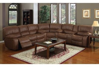 E-Motion Furniture Josie Right Hand Facing Reclining Sectional Customize: Yes