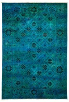 "Solo Rugs Vibrance Collection Oriental Rug, 6'1"" x 8'10"""