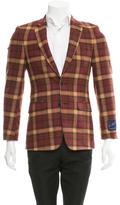 Duckie Brown Plaid Slim-Fit Blazer w/ Tags