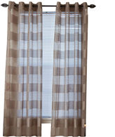 Asstd National Brand Sofia Grommet-Top Curtain Panel