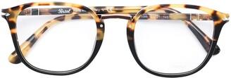 Persol Tortoiseshell Detail Glasses