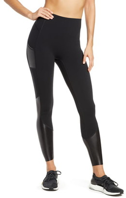 Spanx Every.Wear Gloss Panel Pocket Active Leggings