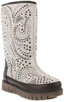 Azura Womens Agaxis Water Resistant Flat Heel Winter Boots