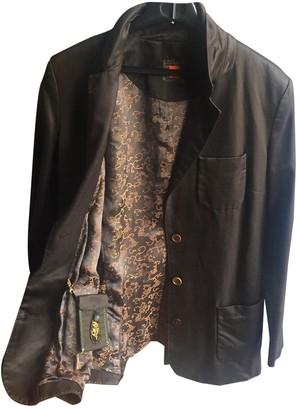 BOSS Brown Cotton Jacket for Women