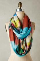 Anthropologie Graphic Pinwheel Infinity Scarf