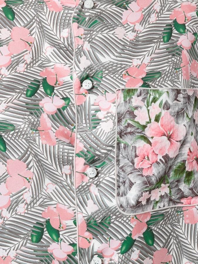 Julien David floral print shirt