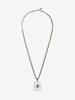 Alexander McQueen Spider Resin Necklace