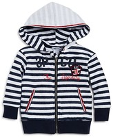 3 Pommes Infant Boys' Striped Hoodie - Sizes 3-24 Months