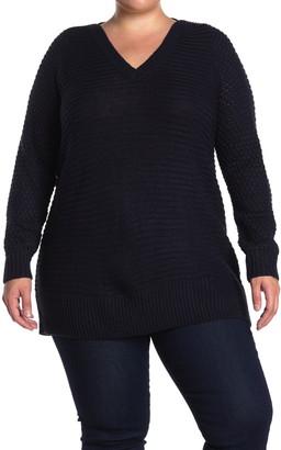 Vero Moda V-Neck Tunic Sweater