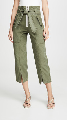 Marissa Webb Reid Herringbone Canvas Pants