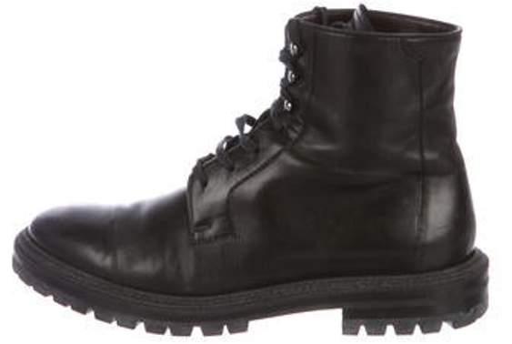 494d01b44c6 Leather Combat Boots black Leather Combat Boots