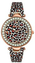 Versus By Versace SQ1040013 Versace Womens Sertie Rose Gold/Brown Leopard